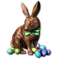 Easter 2016 Bunny Bronze