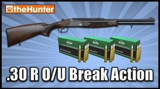 TheHunter - .30 R O U Break Action Rifle