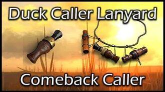 TheHunter - Duck Caller Lanyard & Comeback Caller