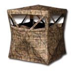 Large equipment ground blind arid