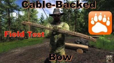 NEW Cable-Backed Bow Field Test theHunter 2016