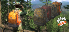 Backpacks release