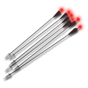 Arrows compound tracer red 256