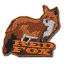 Red fox badge