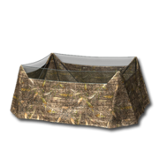 Waterfowl blind fall field camo table 256