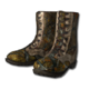 Ghillie boots fall forest