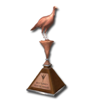 Trophy turkey bronze