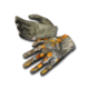 Basic gloves camo fall forest 256