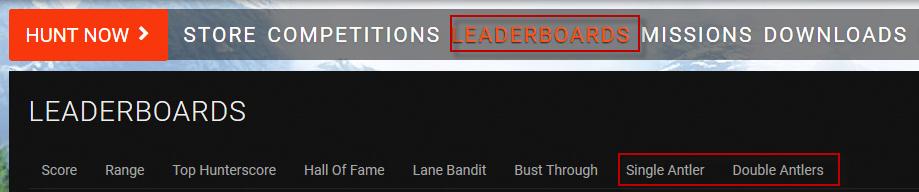 Antler sheds leaderboards