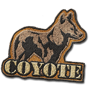 Coyote badge