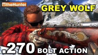 TheHunter .270 Bolt Action Rifle GREY WOLF