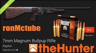 TheHunter 7mm Magnum Bullpup Rifle aka the raptor