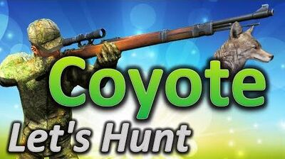 TheHunter Let's Hunt COYOTE (big coyote 57