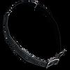 Dog collar leather black