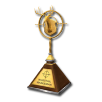 Trophy mm gold