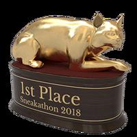 Sneakathon 2018 gold