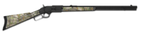 Lever action rifle 3006 forest
