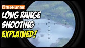 Long Range Shooting How to make those super long shots theHunter Hunting Game
