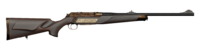 Bolt action rifle 7x64 engraved