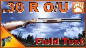 .30 R O U Rifle Field Test theHunter Classic 2017