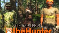 TheHunter 2015 Non-Typical Blacktail Deer x3 group