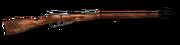 Bolt action rifle 762x54