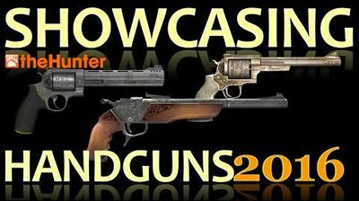 TheHunter Showcasing Handguns 2016 (Animations, Sights & Sounds)