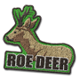 Roe deer badge