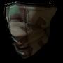 Face scarf army camo