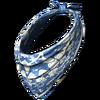 Dog scarf blue