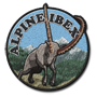 Alpine ibex badge