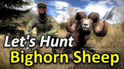 TheHunter Let's Hunt BIGHORN SHEEP