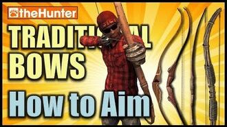 TheHunter - Traditional Bows - How to Aim