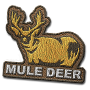 Mule deer badge