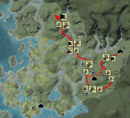 RFF elk route