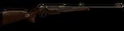 Bolt action rifle anschutz engraved 93x62 256