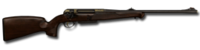 Bolt action rifle anschutz engraved 93x62 256
