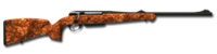 Bolt action rifle anschutz 8x57 256