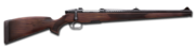 Bolt action rifle stutzen