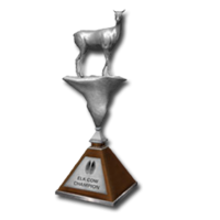Trophy elk cow silver