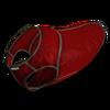 Dog winter vest red