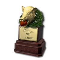 Holidays 2013 trophy 01