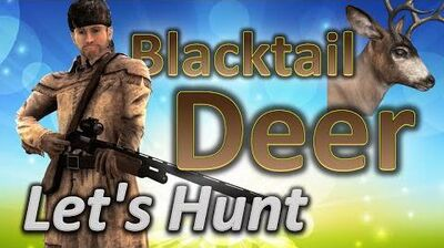TheHunter Let's Hunt BLACKTAIL DEER (Holiday 2015 mission for