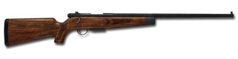 Bolt action rifle 270 1024