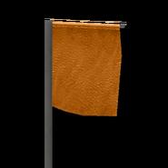 Marker flag orange