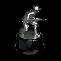Sneakathon man silver