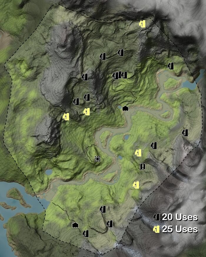 Climbing locations
