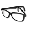 Basic glasses black