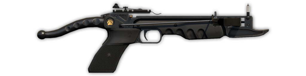 Crossbow pistol standard