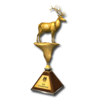 Trophy elk gold